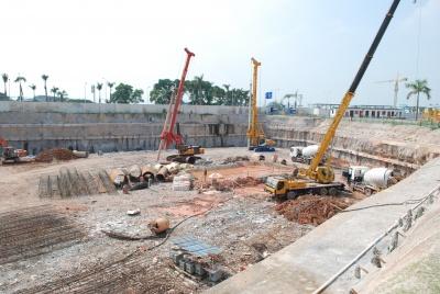 海上世界双玺花园基坑支护工程