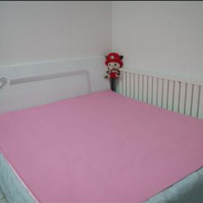 粉色双人凉席1.5mx2.1m-1.8mx2.1