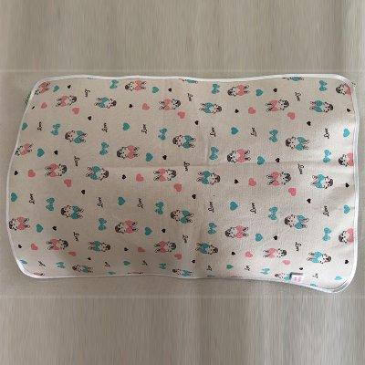 卡通兔枕巾40cmx60cm-45cmx65cm
