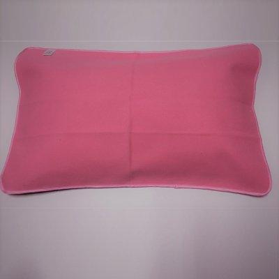 粉色枕巾40cmx60cm-45cmx65cm