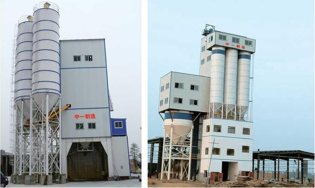 管樁專用攪拌站生産線A