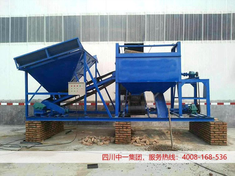 XS-100型洗石机型