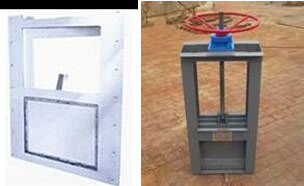 ZSM型不锈钢制水闸门