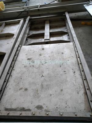 QZM型不锈钢渠道插板闸门