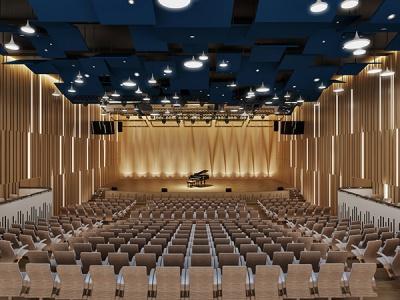 闽江师专(含马堡小学)音乐厅设计施工一体化(EPC)
