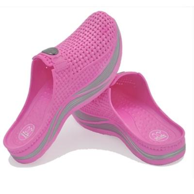 桃红色纤高女鞋国家专利产品