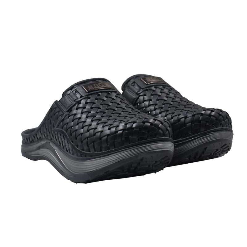 黑色前高男鞋国家专利产品