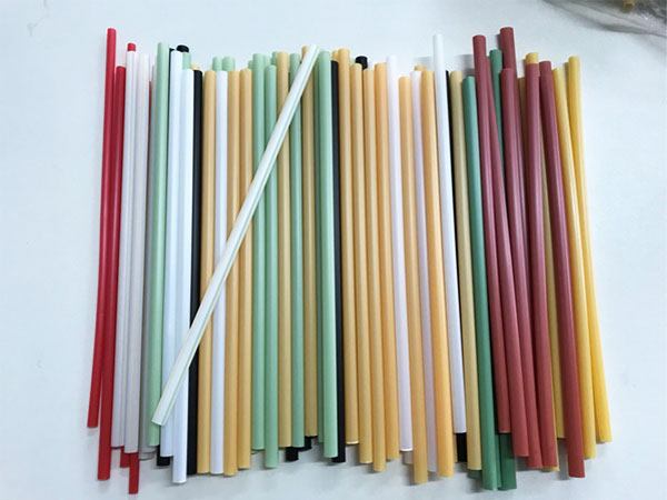 Full biodegradable material: straw