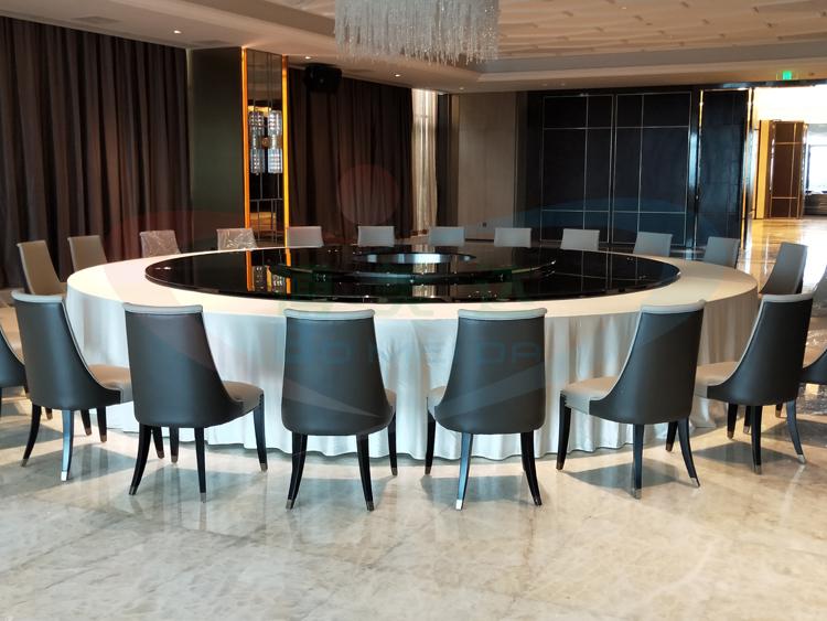 5米连体大型电动餐桌