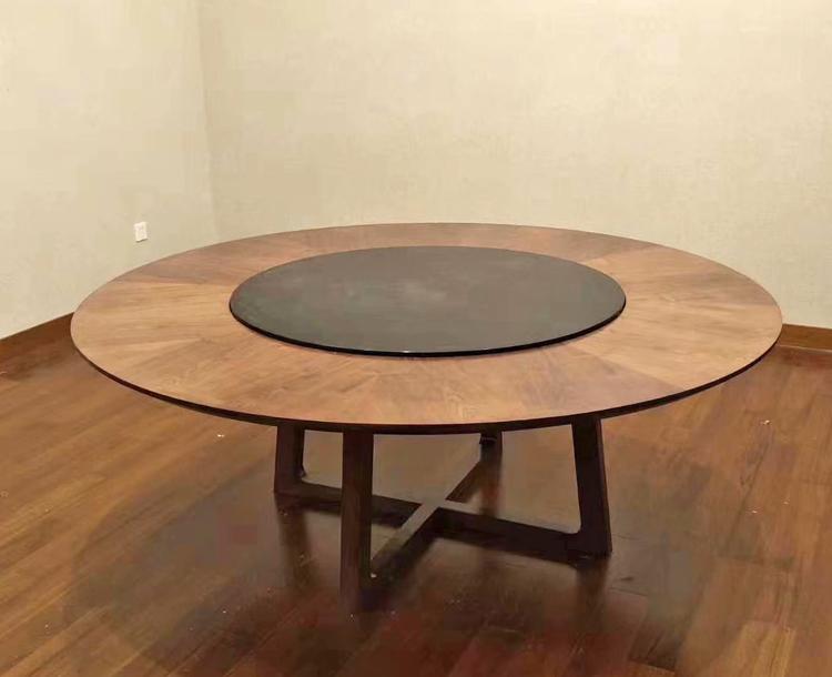 简易实木餐桌