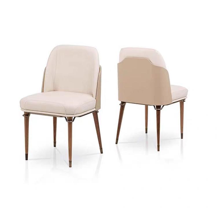 現代簡約輕奢餐椅