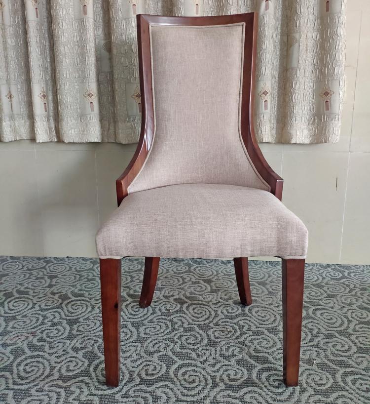 簡約實木餐椅