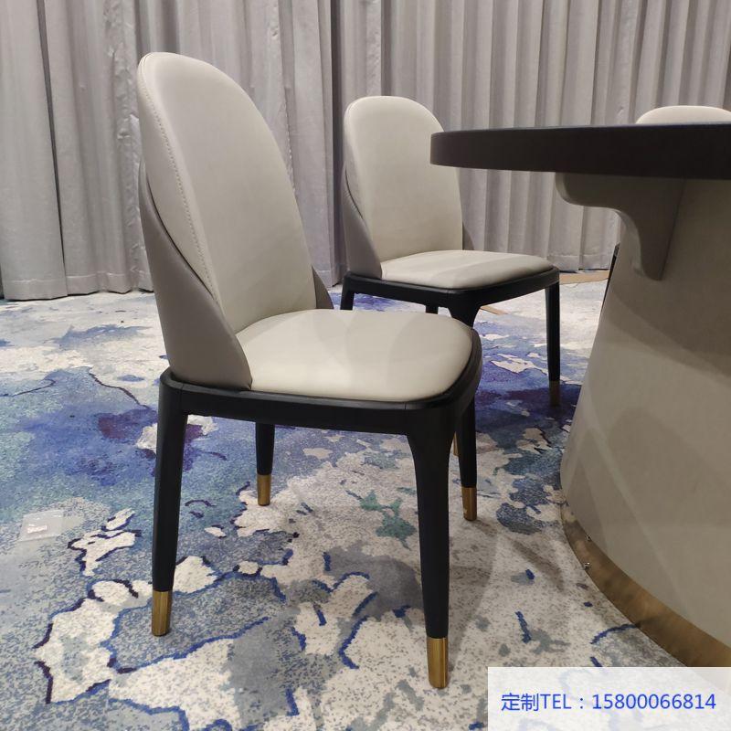 酒店包房電動餐桌椅 輕奢餐椅