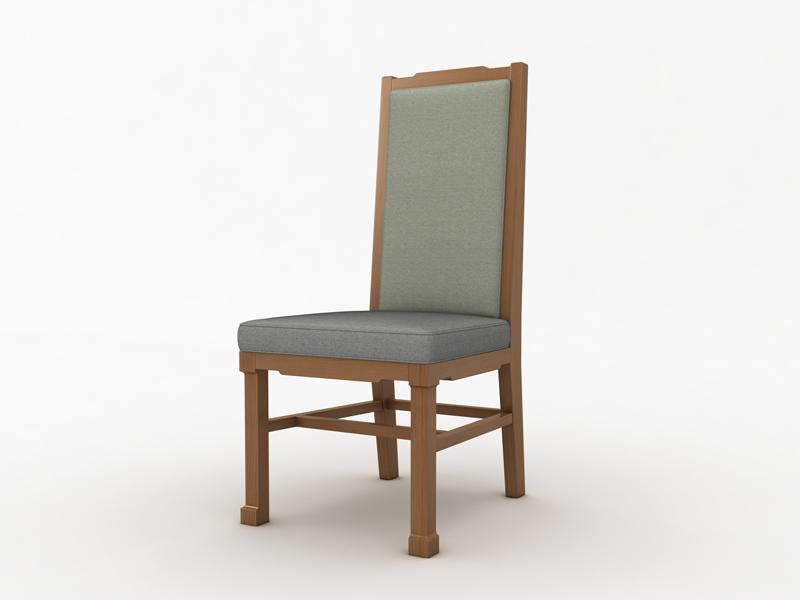 酒店餐椅 新中式餐椅 實木 ***