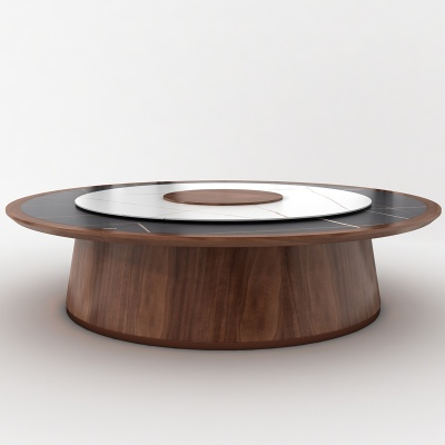 電動餐桌 實木電動桌 巖板實木 新中式 輕奢時尚