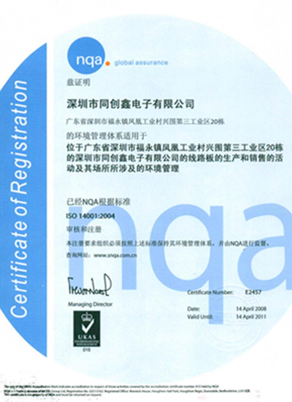 认证1_ISO-14001
