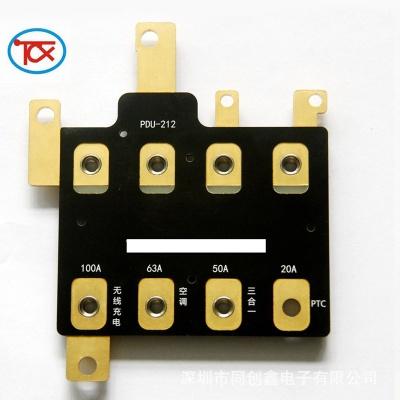 新能源汽车电池板 铜基线路板 PDU母排板 控制板 EDM控制电路板