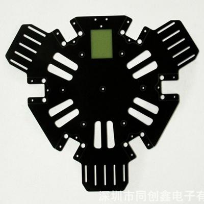 假双面线路板 黑油PCB电路板