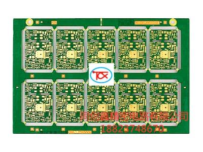 十层通讯盲埋孔线路板