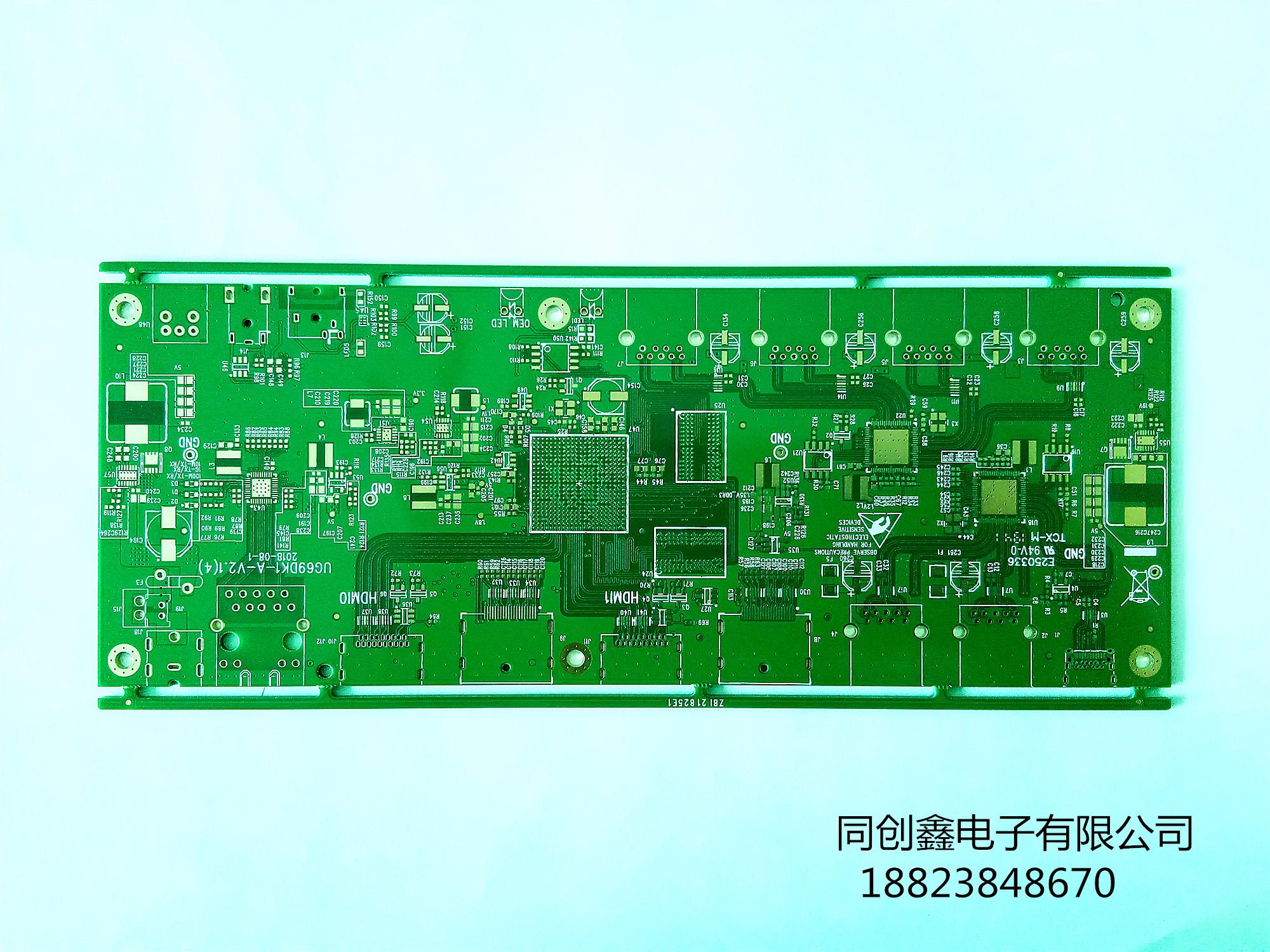 八层  电子 精密转换板
