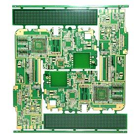 4层 高精密电脑沉金线路板