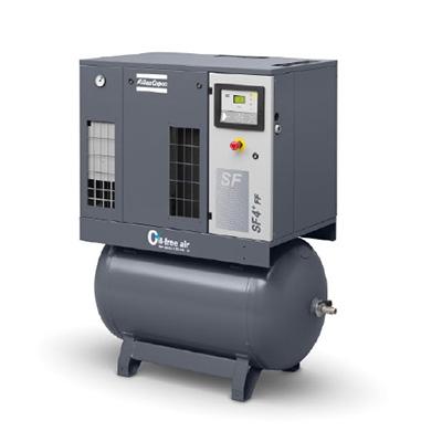 无油涡旋式压缩机