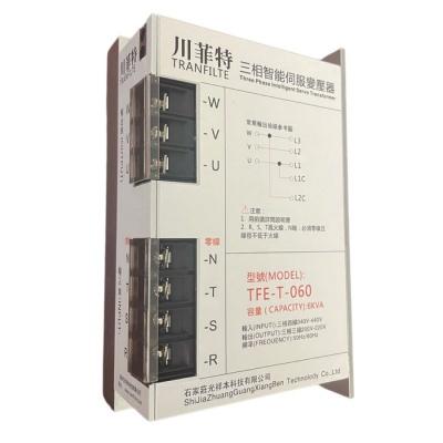 伺服電子變壓器6KVA三相智能伺服川菲特變壓器TFE-T-060