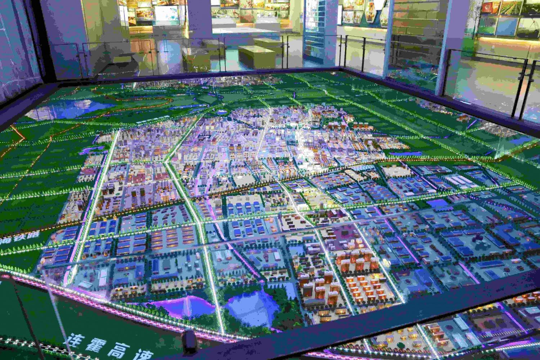 城市規劃沙盤
