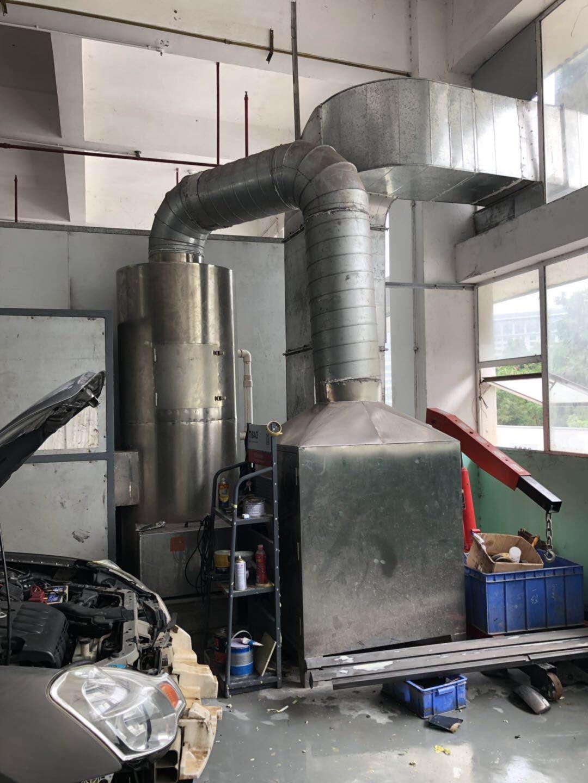 汽修噴漆有機廢氣(活性炭吸附)