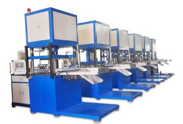 银通热压机工厂图片