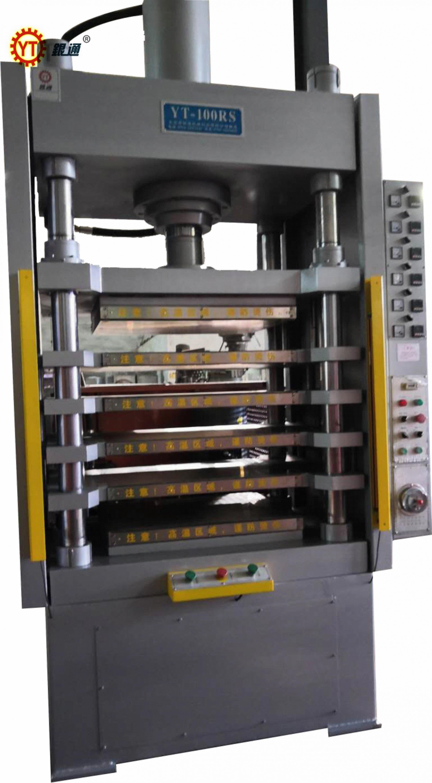如何對熱壓成型機的精度進行判斷和分析