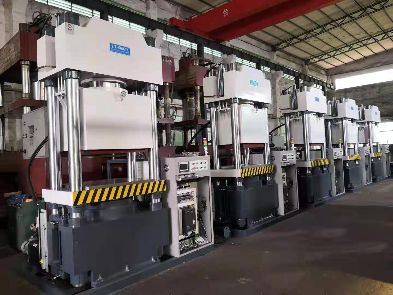 YT-ZK系列500噸真空熱壓機