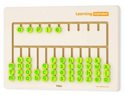 50674 墙上玩具字母