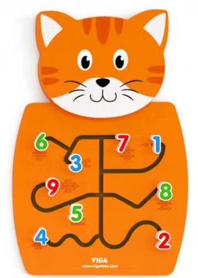 50676 墙上玩具-猫
