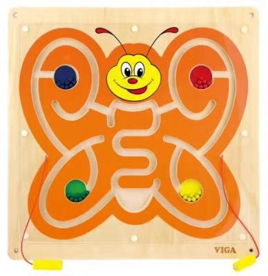 50436  四方墙上玩具-蝴蝶