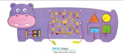 50470   小号墙上玩具-河马