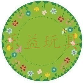 KB3-DT3027(圆形花园教学毯)