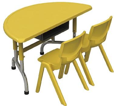 LYCY-009-1多功能组合双人桌