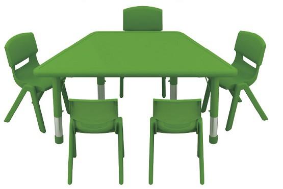 LYCY-003-2升降梯形桌