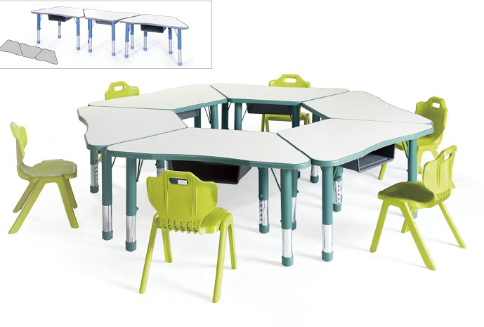 LYCY-091梯形桌