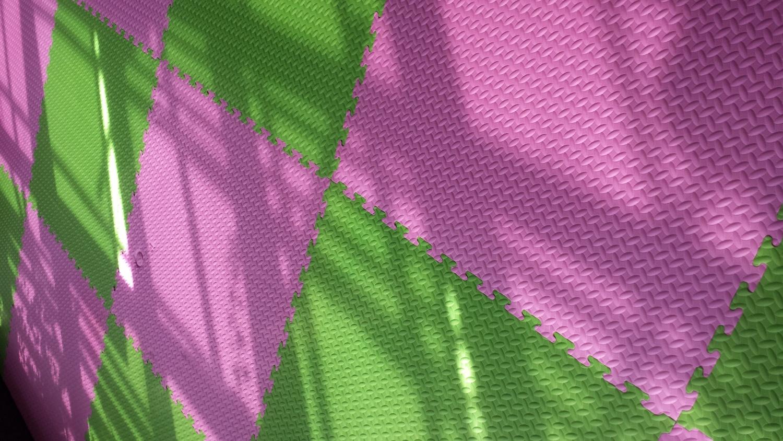 LY119-01-1 树叶纹地垫