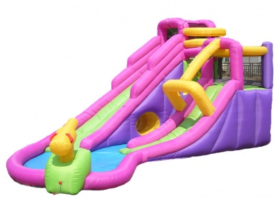 5601 旋转玩水滑梯跳床(玩水款)