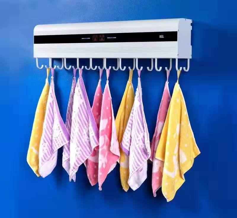 jwa35 消智能毛巾架-墙壁款