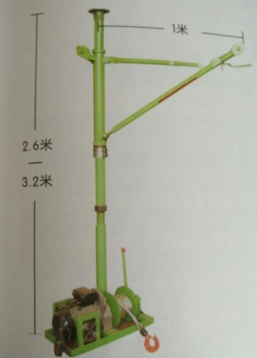 室內單柱吊機、室內折臂吊機