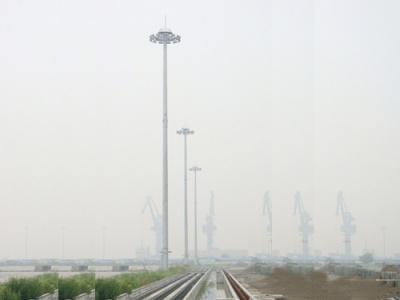 安徽馬鞍山市鄭蒲港港口30米高桿燈