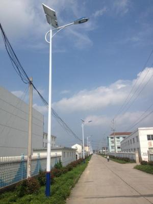 安徽合肥市電廠廠區內太陽能路燈