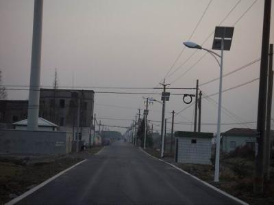 安徽省蕪湖市新農村太陽能路燈項目