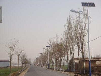 河南商丘市新農村太陽能路燈