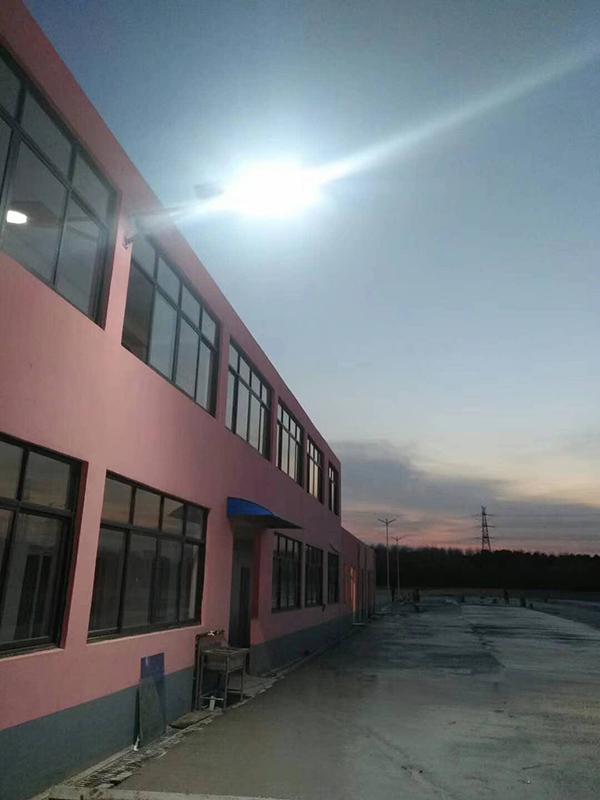 浙江湖州廠區一體化太陽能路燈