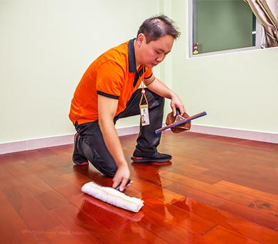 木地板清洗打蜡
